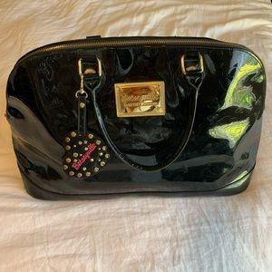 Betsey Johnson large black handbag